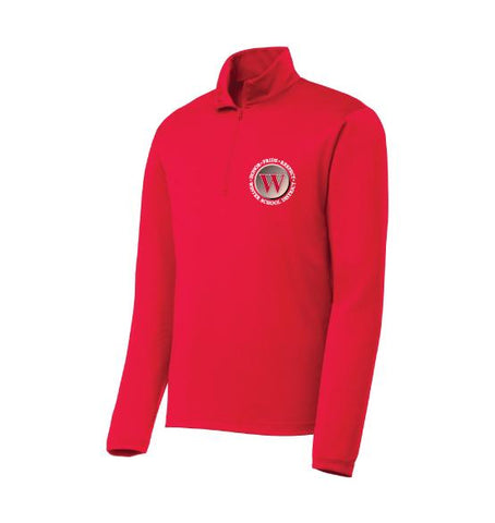 Winter Warriors Adult Lightweight Quarter Zip