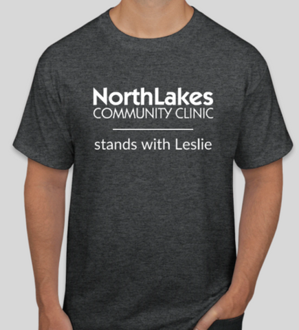 NLCC Stands with Leslie Shirt - Orders must be placed by April 30th