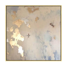 Load image into Gallery viewer, Abstract Hand Painted 'Golden Pastels' Wall Art