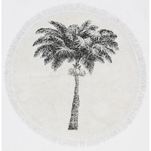 Load image into Gallery viewer, Vintage Palm Tree Mat / Rug