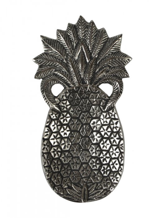 Pineapple Tray in Antique Silver - Small