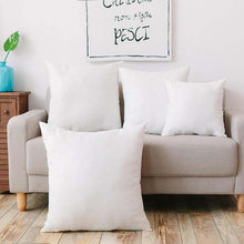 Load image into Gallery viewer, Cotton Cushion Insert White