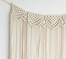 Load image into Gallery viewer, Hanging Bohemian Macrame Wall Art X-Large