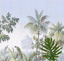 Load image into Gallery viewer, Tropical Rainforest Tree Mural Room Wallpaper