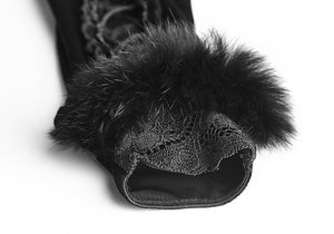 Victorian Fur Gloves