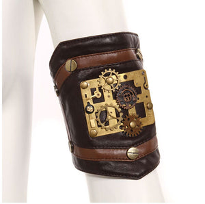 Steampunk Gear Wristband ( One Arm Only )