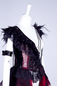 Feathery Fantasy dress