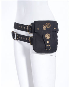 steampunk waistbag