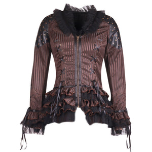 Steampunk Duchess Top