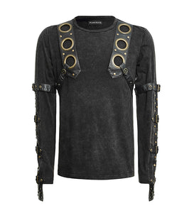 Steampunk Mercenary Top