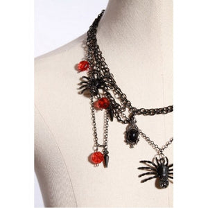 Queen of the Demonweb Necklace
