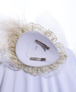White Pearl Head Piece