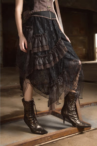 Alexia Steampunk Skirt