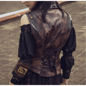 Hot 'n Steamy Steampunk Vest