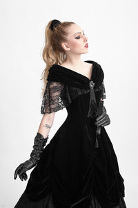 Gothic Beauty Ball Gown