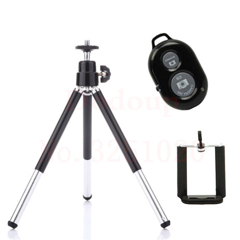 Bluetooth Remote Control Phone Tripod