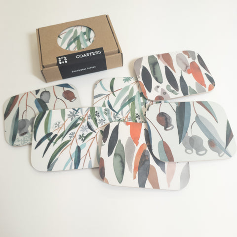Eucalyptus Coaster Set