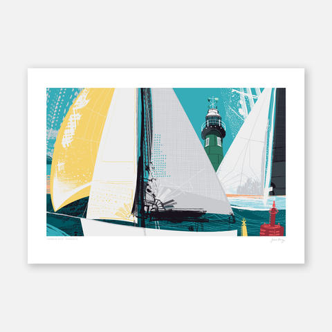 Harbour Race Print