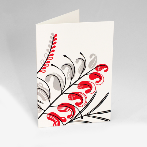 Grevillea Flower Power Card