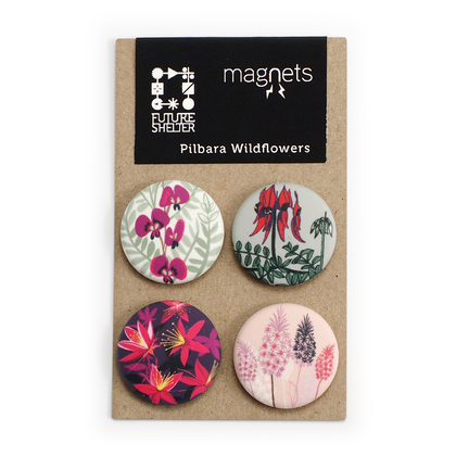Pilbara Wildflowers Magnet Set