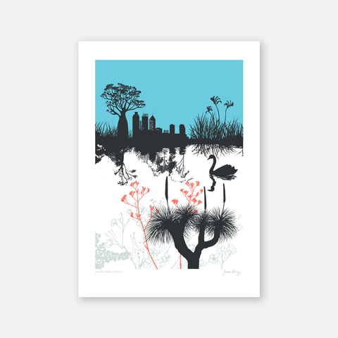 Perth City View Print