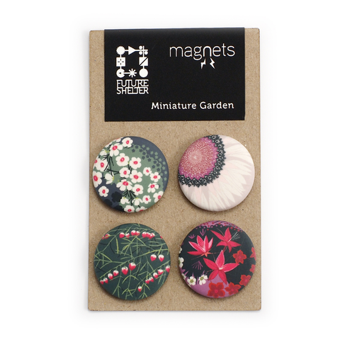 Miniature Garden Magnet Set