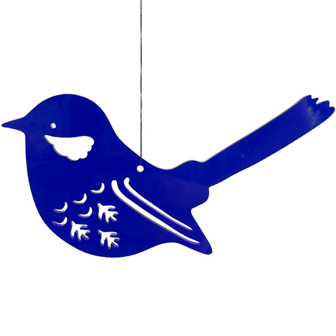 Blue Wren Hanging Decoration