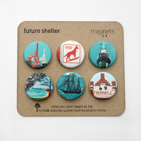 Fremantle Magnet Set