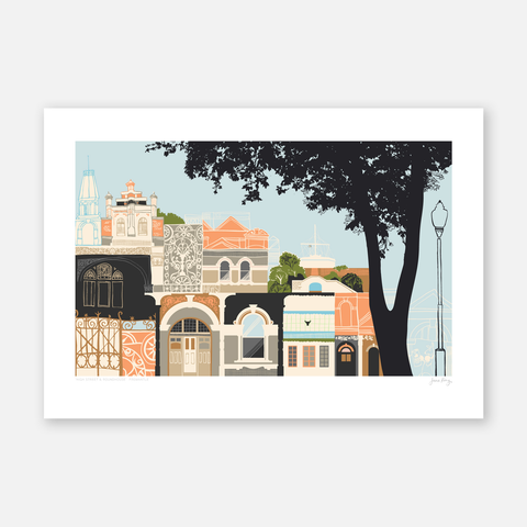 High Street and Roundhouse Print