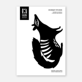 Numbat Sticker Wall Decal