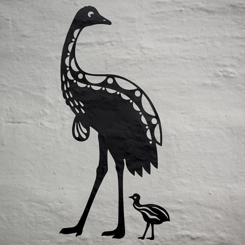 Emu Sticker Wall Decal