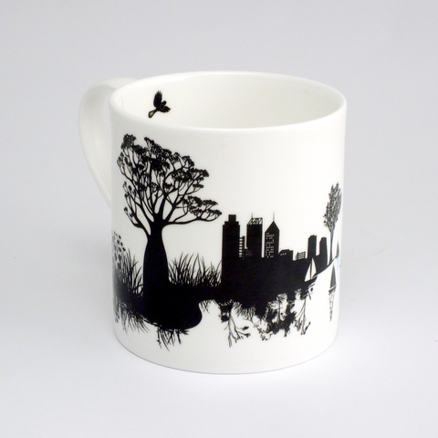 Perth City View Mug