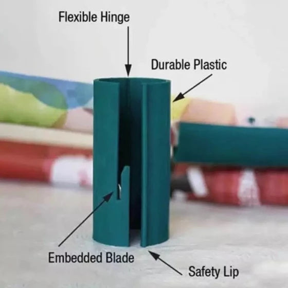 Sliding Wrapping Paper Cutter