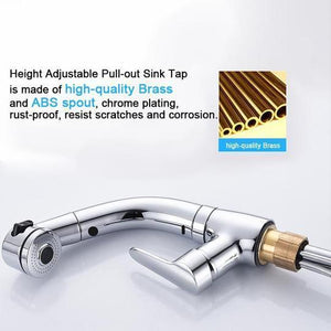 Height Adjustable Pull-out Sink Tap(Free Shipping)