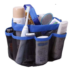 8 Pocket Shower Tote Shower Bag