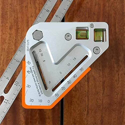 Multi-Functional Woodworking Ruler