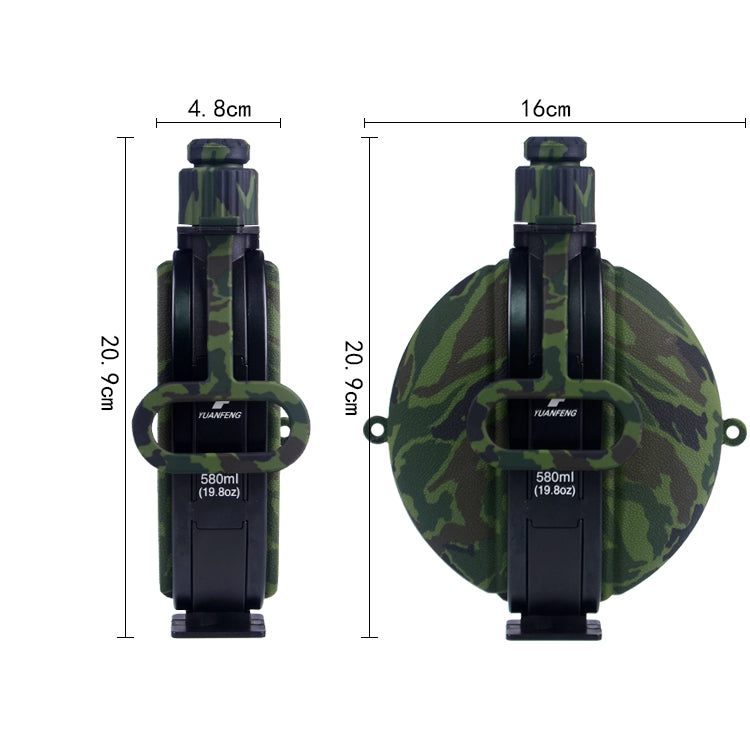 military folding water bottle