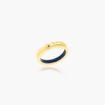 Artist Reflection Wedding Ring<br>(18K Solid Gold)