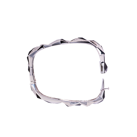 Edgy Bangle (No Diamonds)
