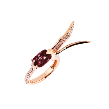 Lover Hope Ring <br>(Full Diamond, 18K Solid Gold)