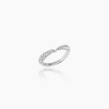 Lover Valentine Wedding Ring<br>(Diamonds, 9K Solid Gold)