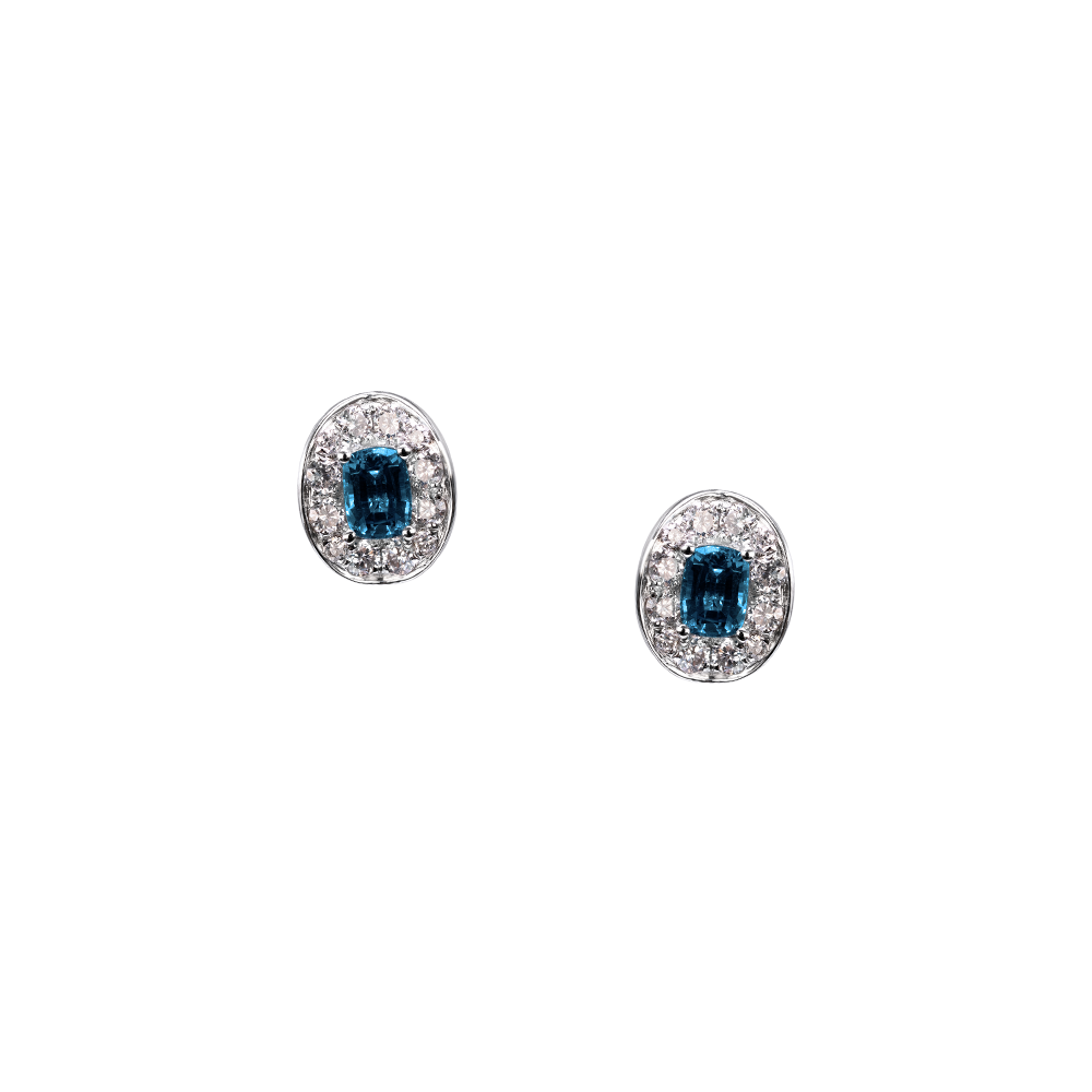 Lover Bloom Studs <br>(9K Solid Gold)