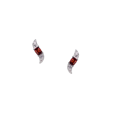 Lover Breeze Studs (Full Diamond)