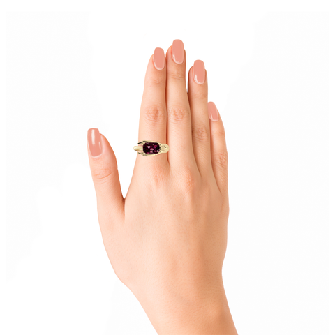 Lover Grace Ring (Semi-Diamond)