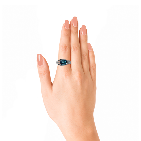 Lover Grace Ring <br>(No Diamonds, 9K Solid Gold)