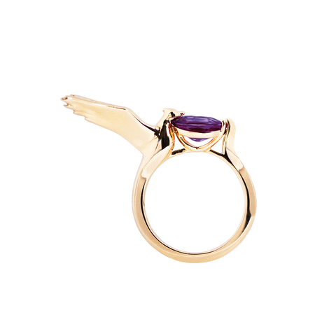 Lover Hope Ring <br>(No Diamonds, 9K Solid Gold)