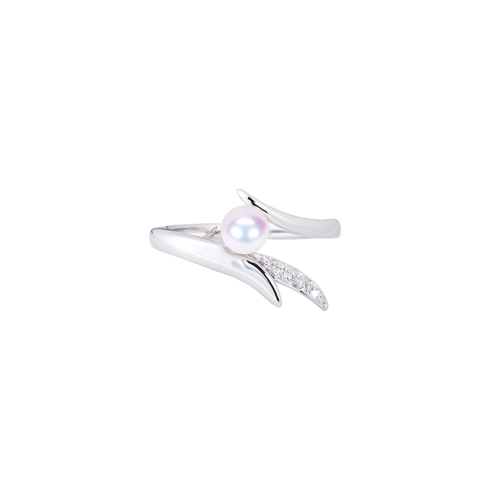 Ocean Reef Ring <br>(Semi-Diamond, 18K Solid Gold)