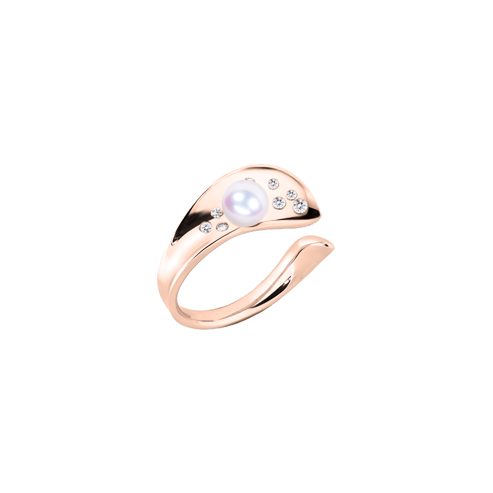 Ocean Surf Ring (Semi-Diamond)