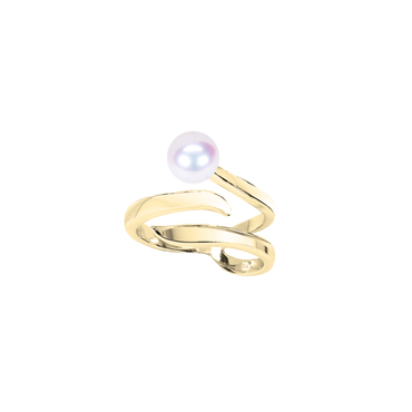 Ocean Wave Ring (No Diamonds)