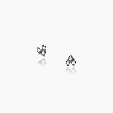 Rockstar Baby Rock Studs (9K Solid Gold)